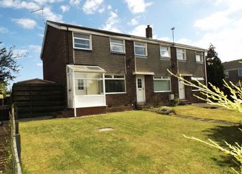 Thumbnail 3 bed end terrace house for sale in Aln Court, Ellington, Morpeth