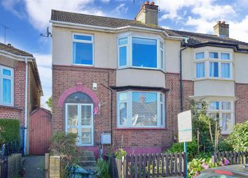 Thumbnail 3 bed end terrace house for sale in Gouge Avenue, Northfleet, Gravesend, Kent