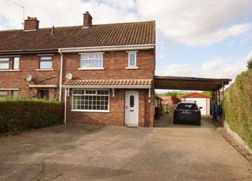 Thumbnail 2 bed terraced house for sale in School Lane, Bonby, Brigg