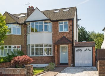 Thumbnail 4 bed semi-detached house for sale in Leafield Road, London