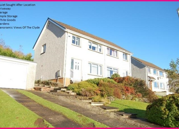 Thumbnail 3 bedroom semi-detached house to rent in Rowan, Dumbarton