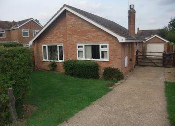 Thumbnail 3 bed detached bungalow to rent in Ash Road, Stilton, Peterborough