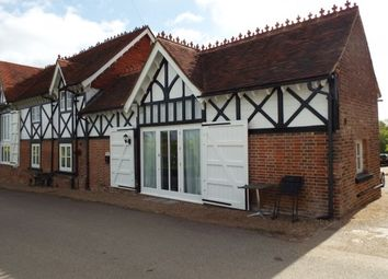 Thumbnail 1 bed barn conversion to rent in Tudeley, Tonbridge