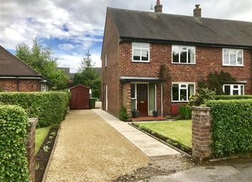 Thumbnail 3 bed end terrace house for sale in Robin Close, Chelford, Macclesfield