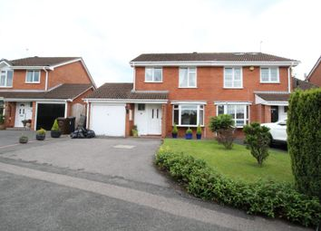 Thumbnail 3 bed semi-detached house for sale in Stoneythorpe Close, Solihull