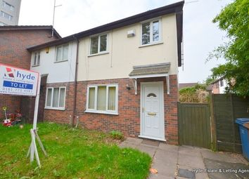 Thumbnail 3 bed semi-detached house to rent in Lamorna Close, Salford