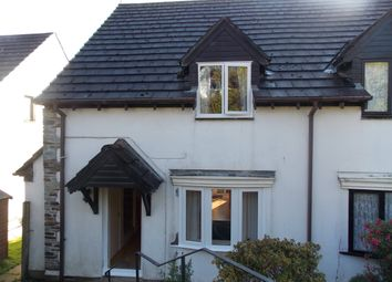 Thumbnail 3 bed semi-detached house to rent in Eastern Avenue, Liskeard, Cornwall