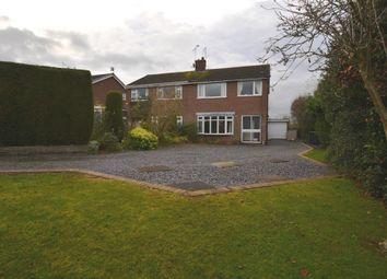 Thumbnail 3 bed semi-detached house for sale in Reynards Rise, Loggerheads, Market Drayton