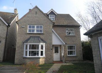 Thumbnail 4 bedroom detached house to rent in Dexter Way, Warmington, Peterborough