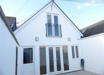 Thumbnail 2 bed semi-detached house to rent in Rear Of 7 Princes Street, Bude, Cornwall