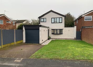 Thumbnail 3 bed detached house for sale in Falcon Close, Broughton Astley, Leicester