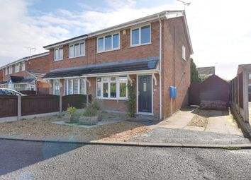 Thumbnail 3 bed semi-detached house to rent in Rochester Crescent, Sydney, Crewe