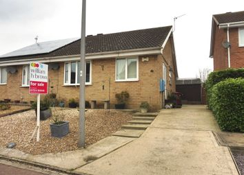 Thumbnail 1 bed semi-detached bungalow for sale in Lambourne Rise, Bottesford, Scunthorpe