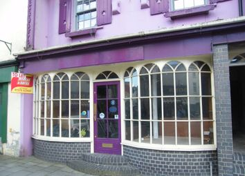 Thumbnail Commercial property for sale in High Street, Lampeter, Ceredigion