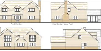 Thumbnail Land for sale in Land Adjoining Paddock Rise, Canterbury Road, Challock, Ashford, Kent