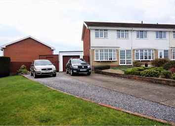 Thumbnail 3 bed semi-detached house for sale in Sheerwater Close, West Cross