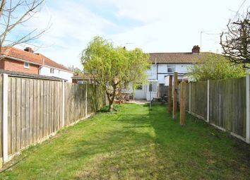 Thumbnail 2 bed terraced house for sale in Tusting Close, Sprowston, Norwich
