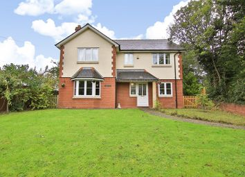 Thumbnail 4 bed detached house for sale in Rockfield Road, Monmouth