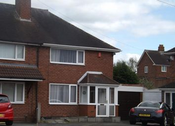 Thumbnail 2 bed end terrace house for sale in Turnley Road, Birmingham, West Midlands
