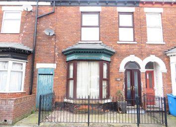 Thumbnail 2 bed terraced house for sale in Blenheim Street, Hull