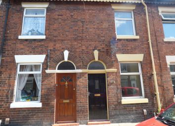 Thumbnail 2 bedroom terraced house to rent in Lindley Street, Stoke-On-Trent, Staffordshire