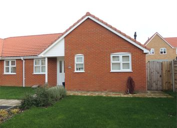 Thumbnail 2 bedroom semi-detached bungalow for sale in Horseman Close, Downham Market