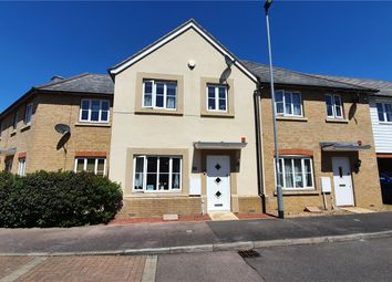 Thumbnail 3 bed terraced house for sale in Stocker Way, Eynesbury, St. Neots, Cambridgeshire
