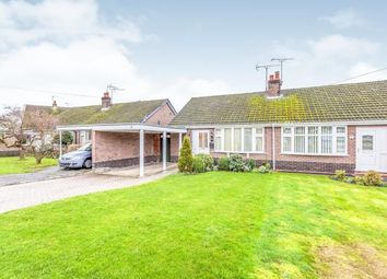 Thumbnail 2 bed bungalow for sale in Wordsworth Close, Wistaston, Crewe, Cheshire