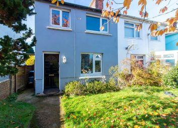 Thumbnail 2 bed semi-detached house for sale in Capel Street, Capel-Le-Ferne, Folkestone