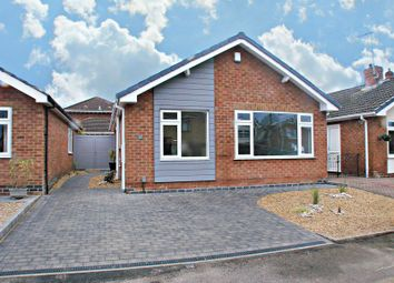 Thumbnail 3 bed detached bungalow for sale in Paddock Close, Radcliffe-On-Trent, Nottingham