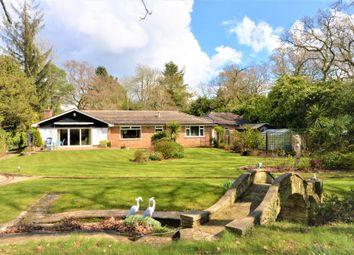 Thumbnail 4 bed detached bungalow for sale in Fernhill Lane, New Milton