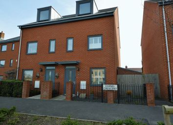 Thumbnail 3 bed semi-detached house for sale in Darnel Crescent, Waterlooville