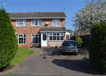 Thumbnail 3 bed semi-detached house for sale in Lyster Close, Warwick, Warwickshire
