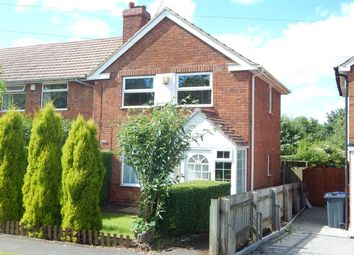 Thumbnail 2 bed terraced house for sale in Alwold Road, Quinton, Birmingham