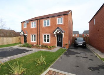 Thumbnail 3 bedroom semi-detached house for sale in Marion Close, Carlisle, Cumbria