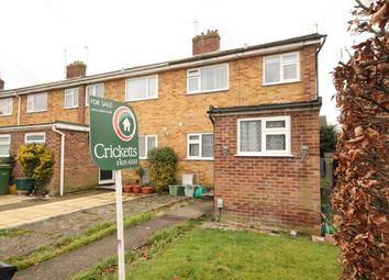Thumbnail 3 bed end terrace house for sale in Wellington Close, Newbury