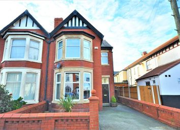Thumbnail 4 bed semi-detached house for sale in Holmfield Road, Blackpool, Lancashire