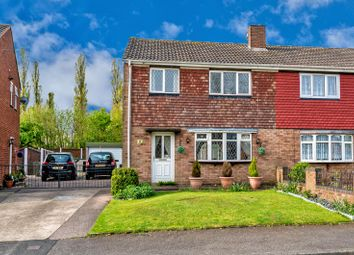 Thumbnail 3 bed semi-detached house for sale in Red Lion Crescent, Norton Canes, Cannock