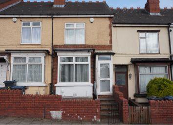 Thumbnail 3 bed terraced house for sale in Dora Road, Handsworth, Birmingham