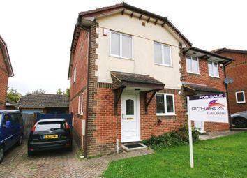 Thumbnail 3 bedroom semi-detached house for sale in Gibbs Green, Lytchett Matravers, Poole
