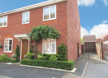 Thumbnail 3 bed semi-detached house for sale in Yarn Lane, Dickens Heath, Shirley, Solihull