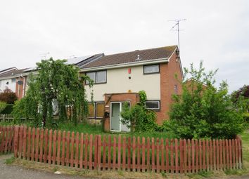 Thumbnail 3 bed end terrace house for sale in Hawlands, Brownsover, Rugby