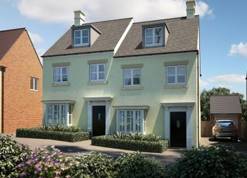 "Thumbnail 3 bedroom semi-detached house for sale in ""The Acton"" at Barracks Road, Modbury, Ivybridge"