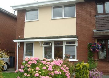Thumbnail 3 bed semi-detached house to rent in Larkin Avenue, Longton, Stoke-On-Trent