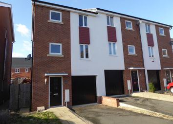 Thumbnail 3 bed end terrace house to rent in Lares Avenue, Cardea, Peterborough