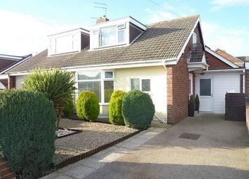 Thumbnail 2 bed semi-detached bungalow for sale in Dereham Road, Seaton Sluice, Whitley Bay