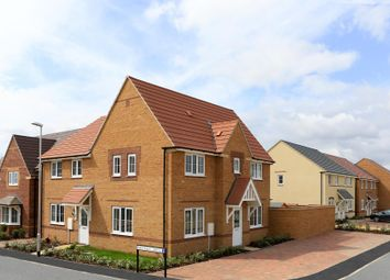 "Thumbnail 3 bed semi-detached house for sale in ""Morpeth"" at Arnold Drive, Corby"