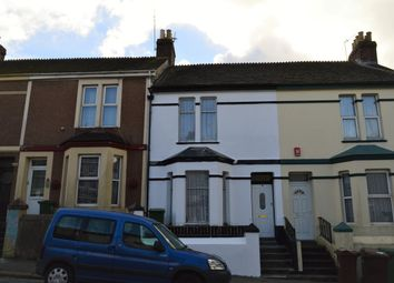 Thumbnail 2 bed terraced house to rent in Ferndale Avenue, Plymouth