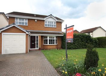 Thumbnail 4 bed detached house for sale in Foxes Way, Balsall Common, Coventry