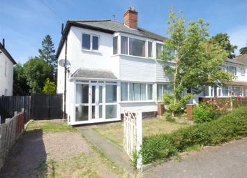 Thumbnail 3 bed semi-detached house for sale in The Crescent, Tettenhall Wood, Wolverhampton